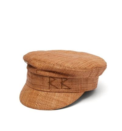Straw Baker Boy Cap