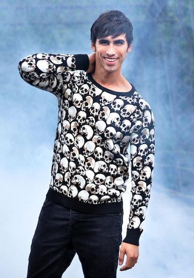 Skulls Galore Adult Halloween Sweater