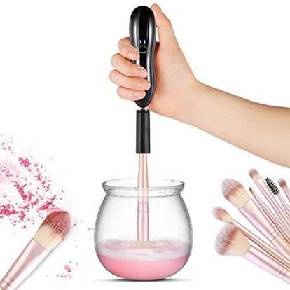 LARMHOI Electric Makeup Brush Cleaning Tool
