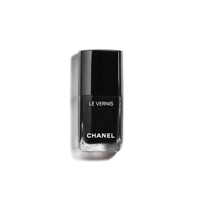 Le Vernis Limited-Edition Longwear Nail Colour in Pure Black