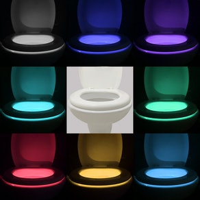 Vintar Motion Sensor LED Toilet Light (2 Pack)