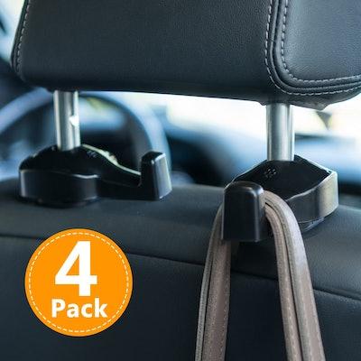 ToPlus Headrest Hooks Car Organizer (4-Pack)