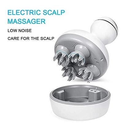 DEDAKJ Electric Handheld Shampoo Brush Head Massager