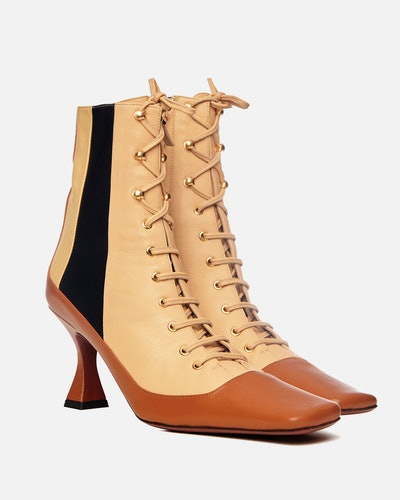 Lace-Up Duck Boots