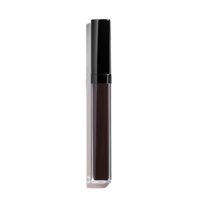 Rouge Coco Gloss Limited-Edition Moisturizing Glossimer in Laque Noir