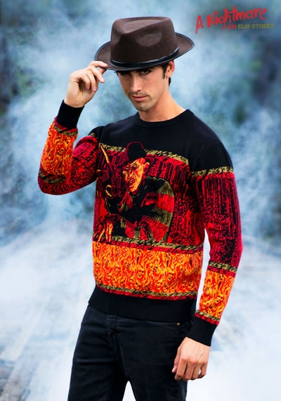 'Nightmare On Elm Street' Freddy Halloween Sweater