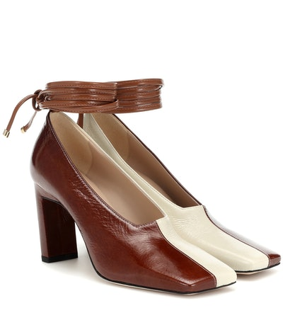 Isa Leather Pumps