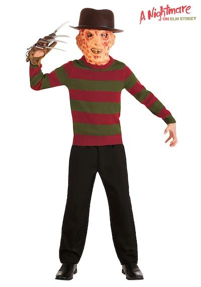 Kids 'Nightmare On Elm Street' Striped Freddy Krueger Sweater