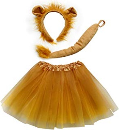 Tutu Skirt, Ears, Tail, Headband Outfit