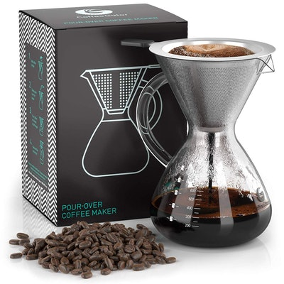 Coffee Gator Pour-Over Brewer (27 Oz)