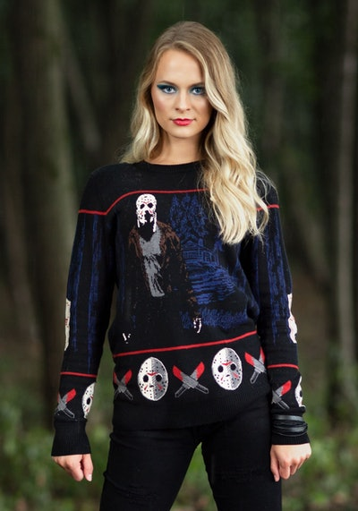 'Friday the 13th' Camp Crystal Lake Adult Halloween Sweater