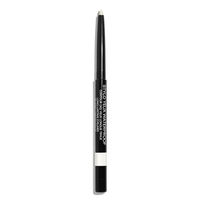 Stylo Yeux Waterproof Long-Lasting Eyeliner in Blanc Graphique