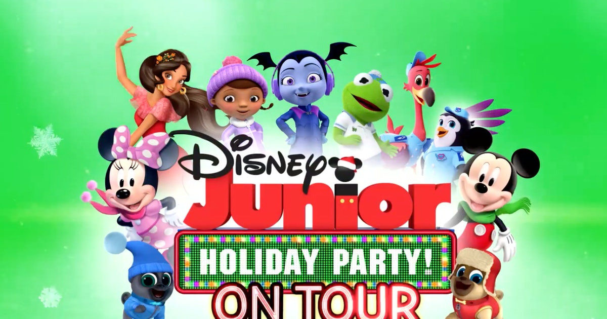 Disney Junior Holiday Party Tour Tickets Are On Sale & Your Preschooler Is Going To Freak