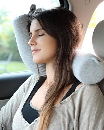 Twist Memory Foam Travel Pillow