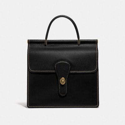 Willis Top Handle in Brass/Black