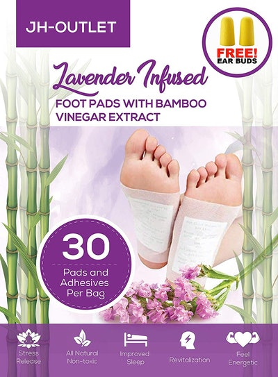 JH-OUTLET Lavender-Infused Foot Pads