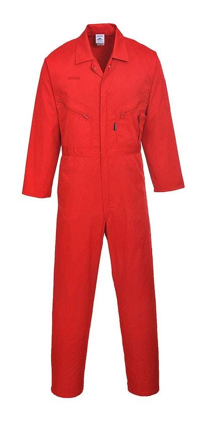 Portwest C813RERXXXL Liverpool Zipper Coverall Boilersuit