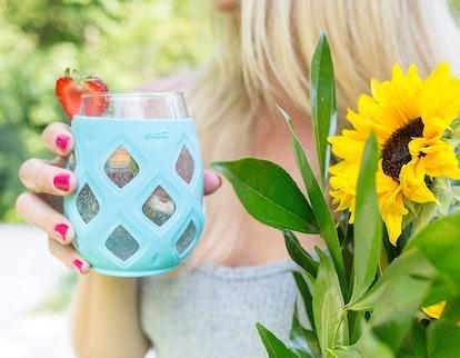 Ello Cru Stemless Wine Glass Set (4-Pack)