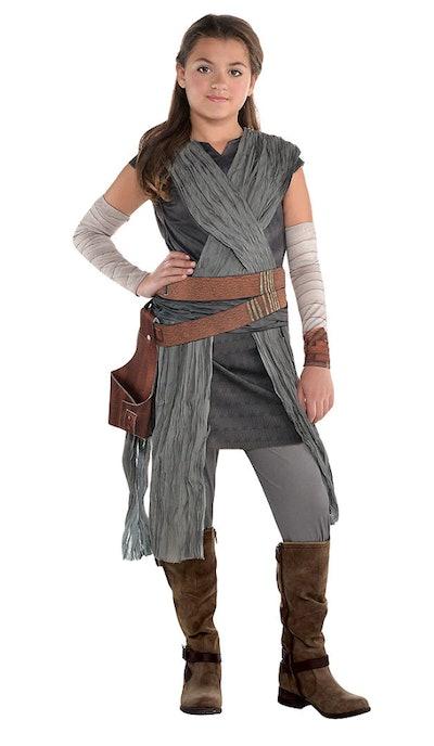 Girls Rey Costume - Star Wars 8 The Last Jedi
