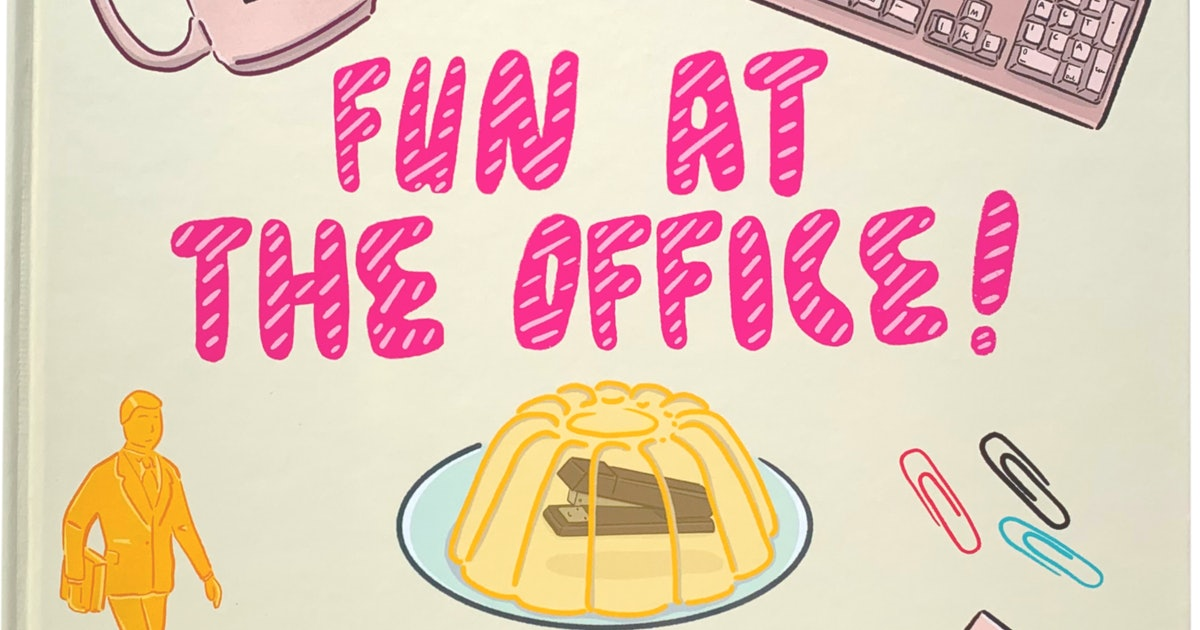 'Fun At The Office' Children's Book Is The Dunder Mifflin Bedtime Story Your Kids Need