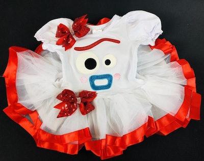 Forky Spork Toy Story Tutu Dress