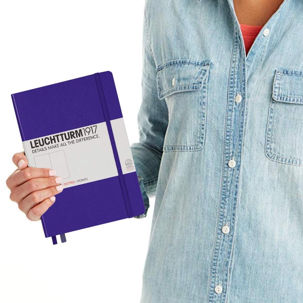 Leuchtturm1917 Dotted Hardcover Notebook
