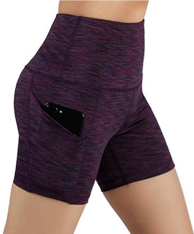 ODODOS High Waist Yoga Shorts