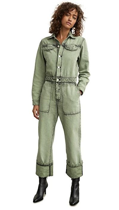 Workwear Denim Jumpsuit