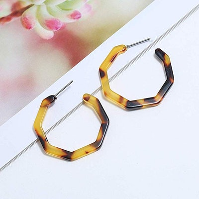 Vitaltyextracts Acrylic Hoop Earrings