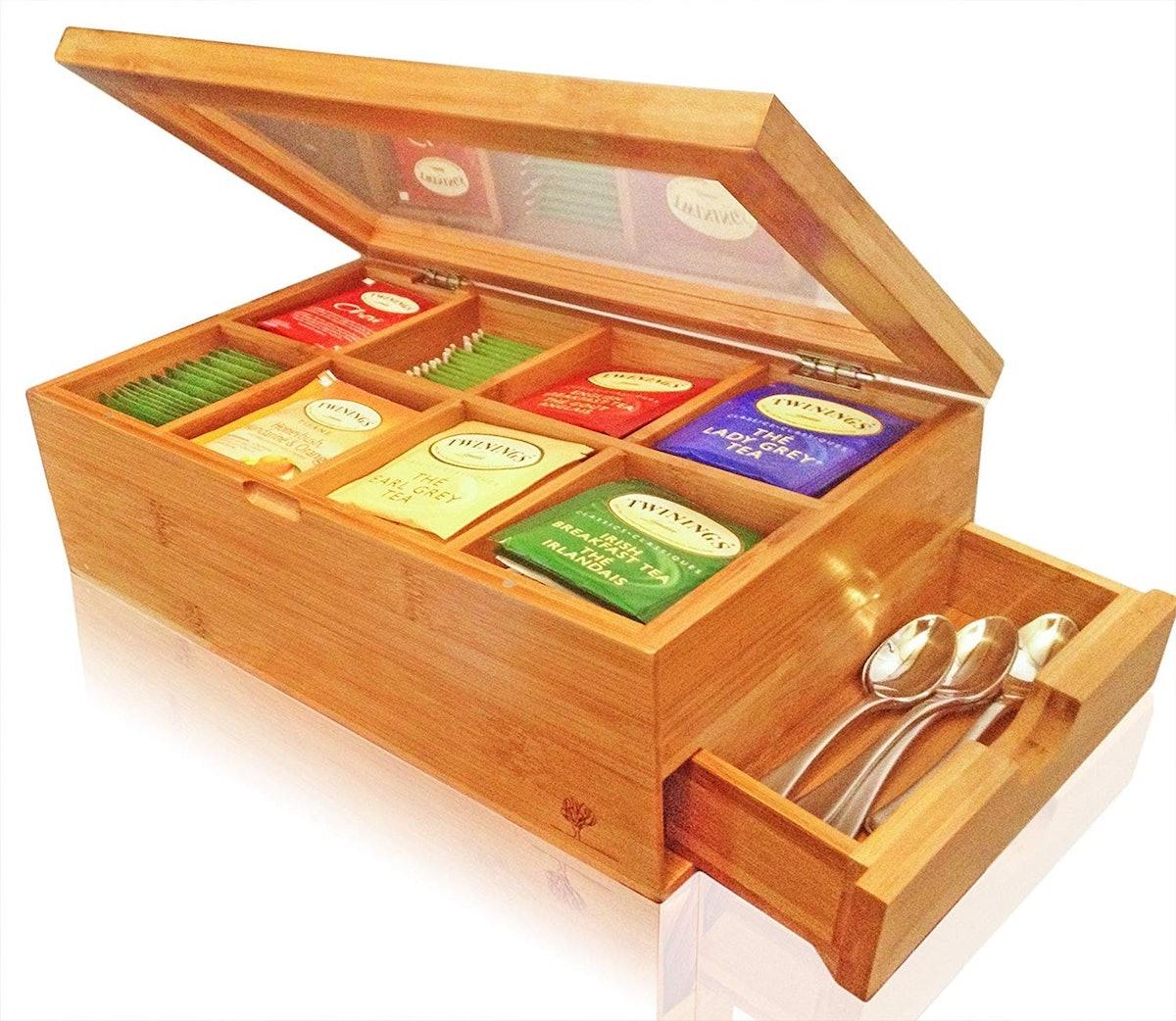 Kwijns Kreations Bamboo Tea Box
