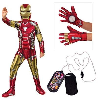 Marvel Avengers Child's Iron Man Costume Bundle