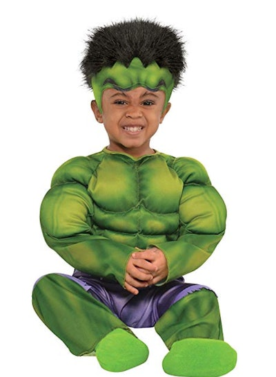 Hulk Muscle Costume for Babies