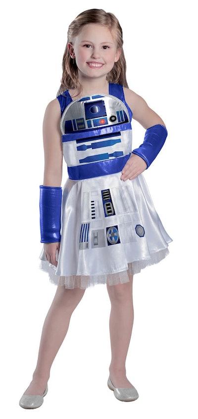 Classic Star Wars R2D2 Girls Dress Costume