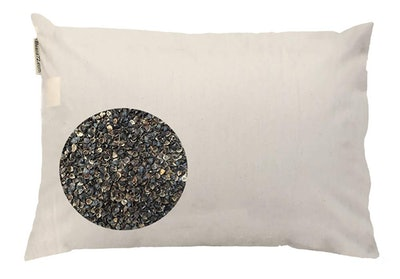 Beans72 Organic King Buckwheat Pillow