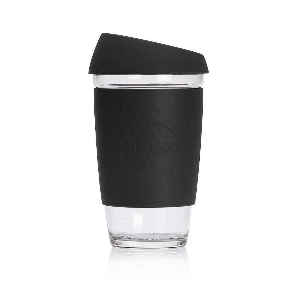 JOCO Reusable Glass Coffee Cup