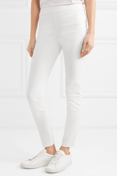Stratton Stretch Cotton-Blend Leggings