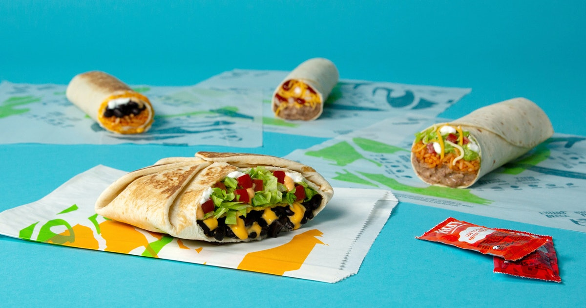 A Fully Vegetarian Menu Just Hit Taco Bell — Here Are 4 Options You Have To Try, Stat