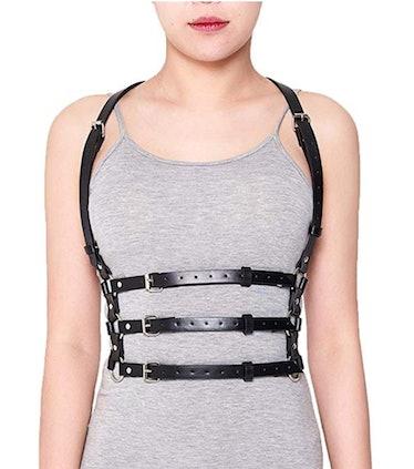 Kat wears a harness on 'Euphoria.'