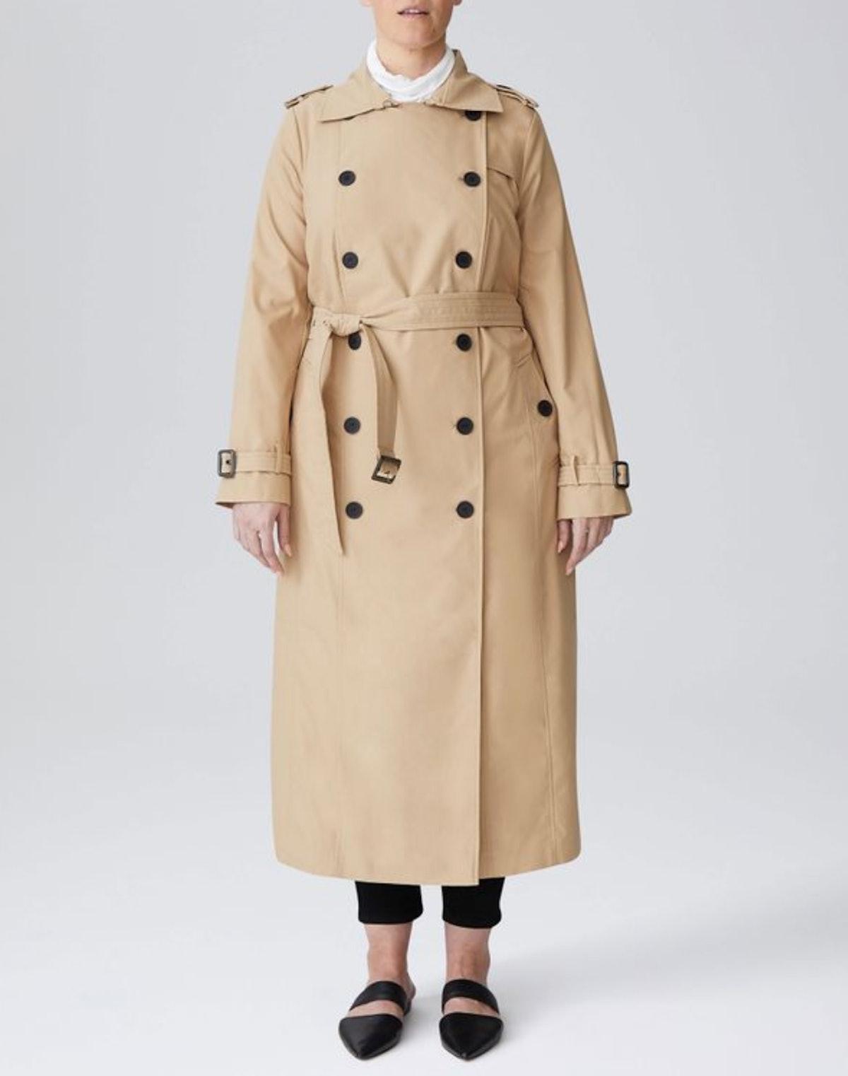 Tirsa Long Trench Coat