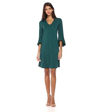 Lark & Ro Matte Jersey Dress