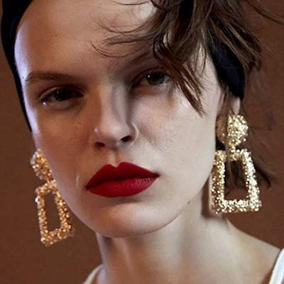 Kelmall Gold Statement Earrings