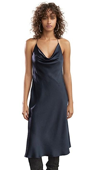 Halter Neck Slip Dress
