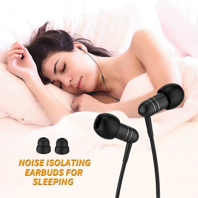 Mijiaer Noise-Isolating Headphones Sleep Earbuds