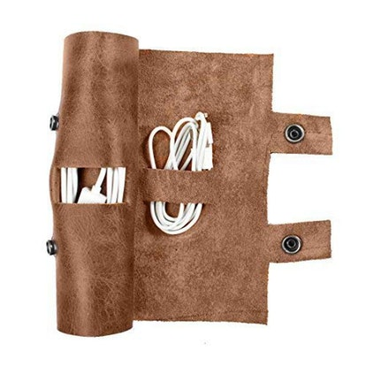 Hide & Drink Rustic Sushi Roll Cord Keeper