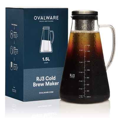 Ovalware Cold Brew Iced Coffee Maker