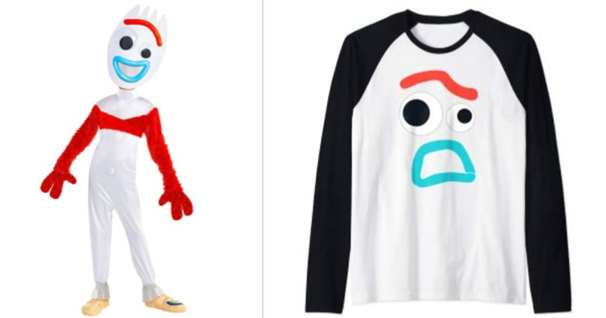 9 Forky Halloween 2019 Costumes For 'Toy Story' Fans Of All Ages