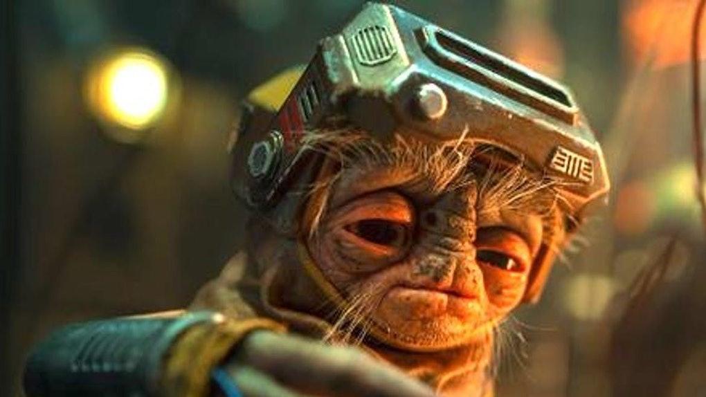 Babu Frik in The Rise of Skywalker