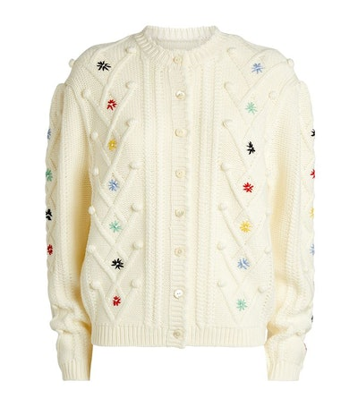 Shrimps P Mccoy Bobbles Embroid Cardigan