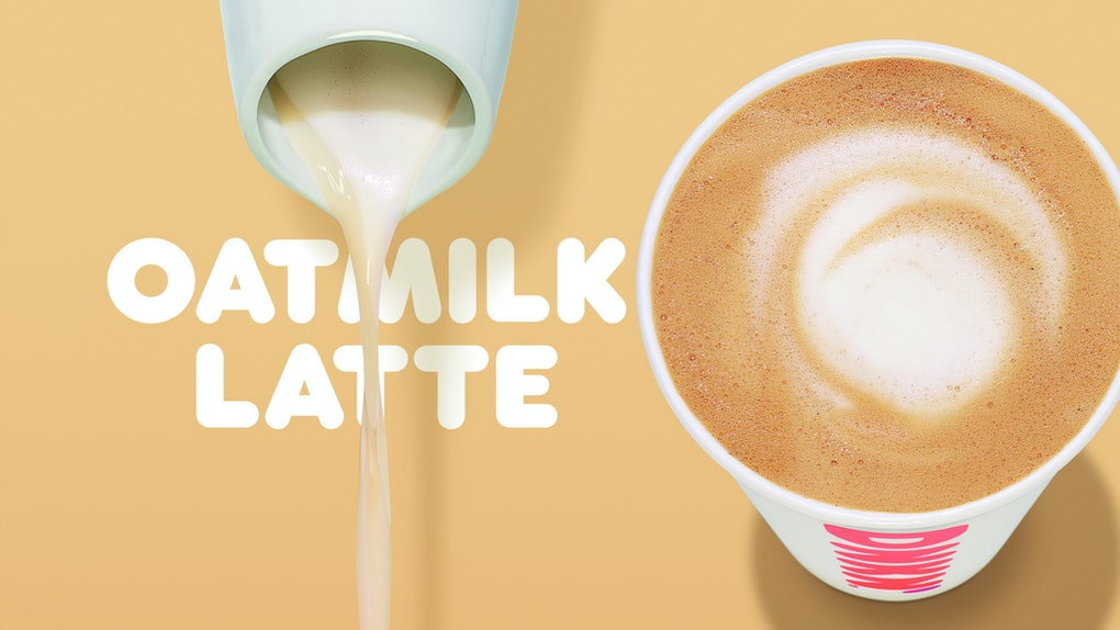 Dunkin' Is Adding Oat Milk To Their Menu In Spring 2020, so here's what you need to do about the addition, plus a brand-new latte.