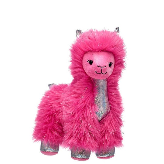 build-a-bear's pink shear sparkle llama